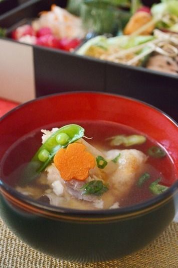 ハマチの出汁でお雑煮。 by Salaさん | レシピブログ - 料理ブログの ...
