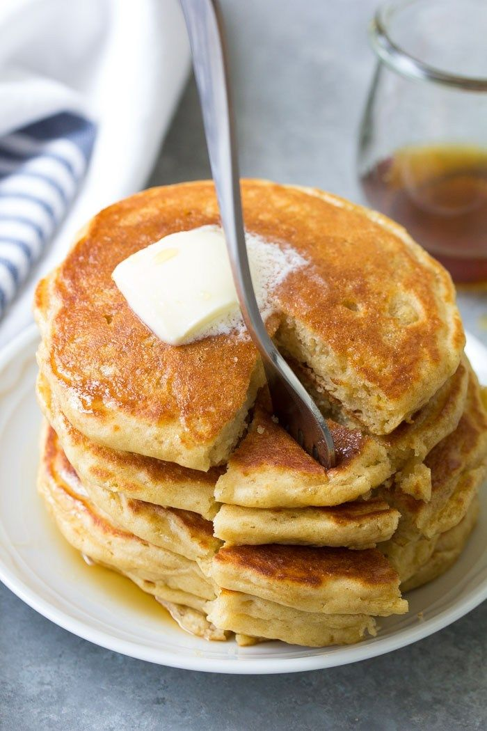 Light And Fluffy Buttermilk Pancakes With Delicious Buttermilk Flavor Tips For How To Make Th Buttermilk Pancakes Buttermilk Recipes Pancake Recipe Buttermilk