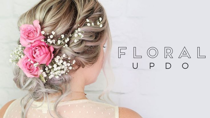 ipsy Mane Event | Floral Updo - YouTube