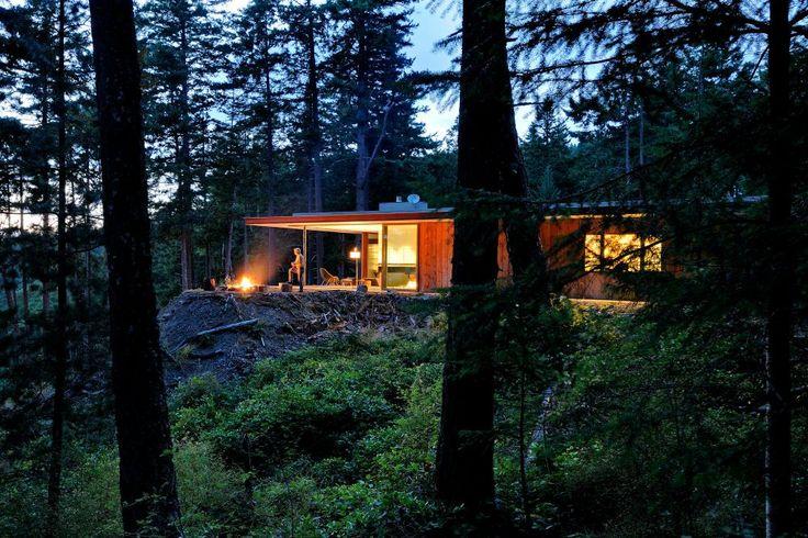 Ο αρχιτέκτονας Gary Gladwish έκανε τη ευχή της μητέρας του πραγματικότητα για ένα σπίτι απόλυτα συνυφασμένο με το φυσικό περιβάλλον στις Η.Π.Α.   Από την Αργυρώ Ντόκα