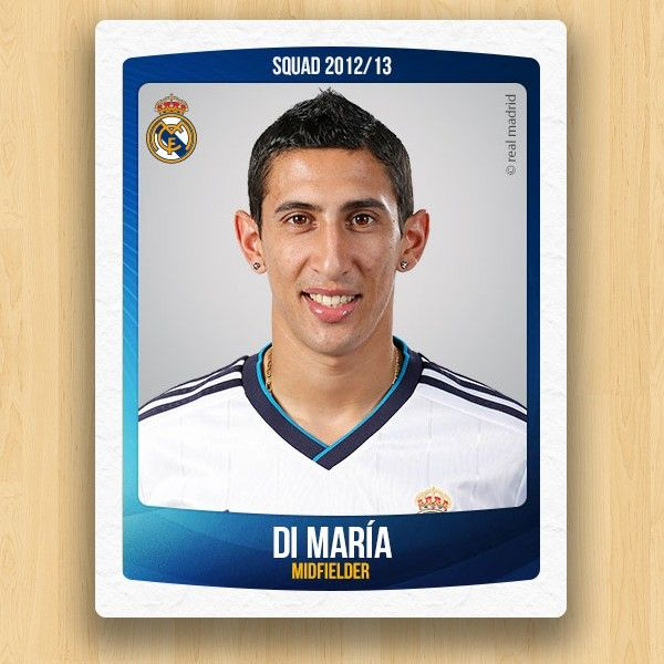 Real Madrid Collections - Ángel Di María