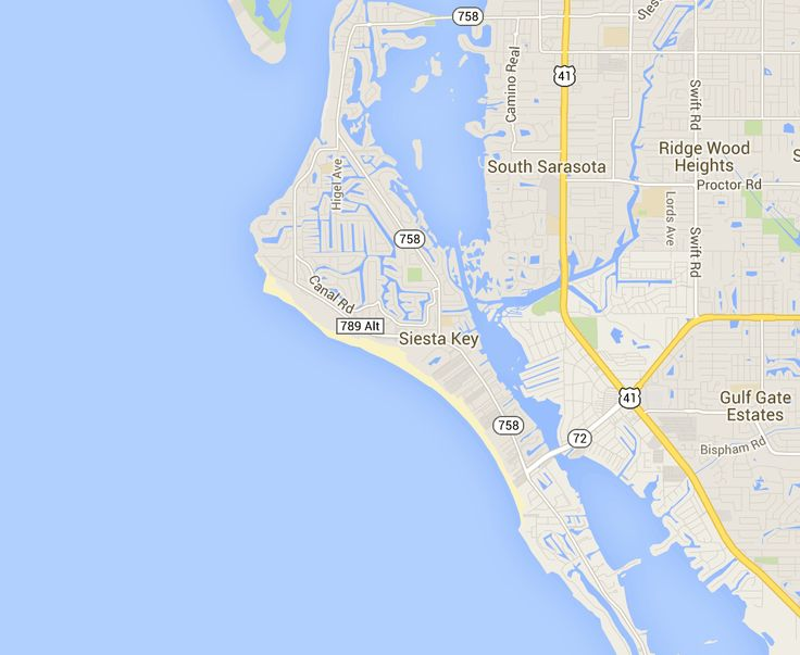 Map of Siesta Key - Hotels and Attractions on a Siesta Key map - TripAdvisor