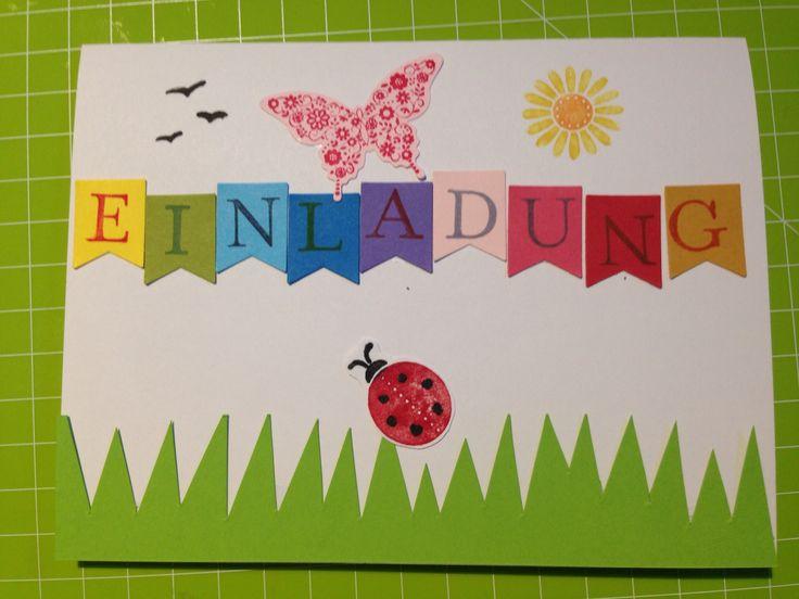 17 besten einladungen kindergeburtstag bilder auf pinterest, Einladung
