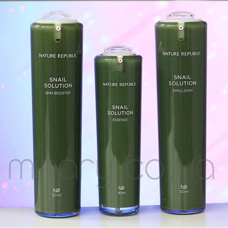 Улиточный набор Nature Republic Snail Solution