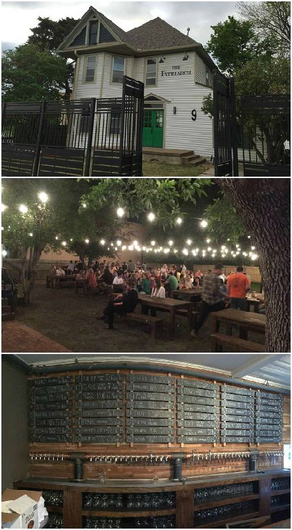 Edmond, Oklahoma's nightlife hot spot The Patriarch combines an extensive craft beer selection, food trucks and a patio with lawn games.