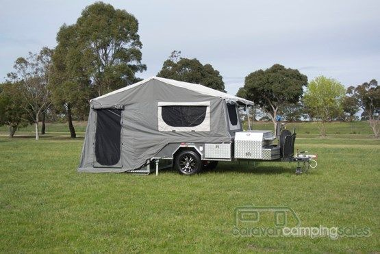 2015 Mars Campers Rear Fold - Off Road - Hard Floor Extremo
