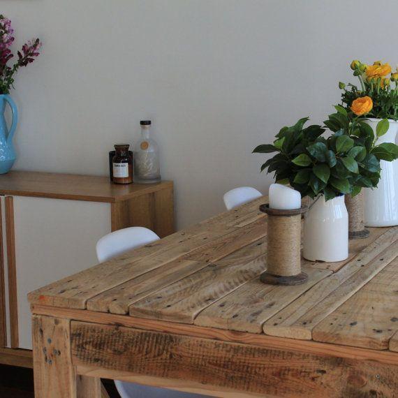 8 best Mesa de palet images on Pinterest Diner table, Pallet
