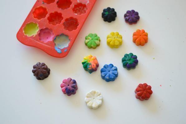 Como fazer lápis de cera reciclados