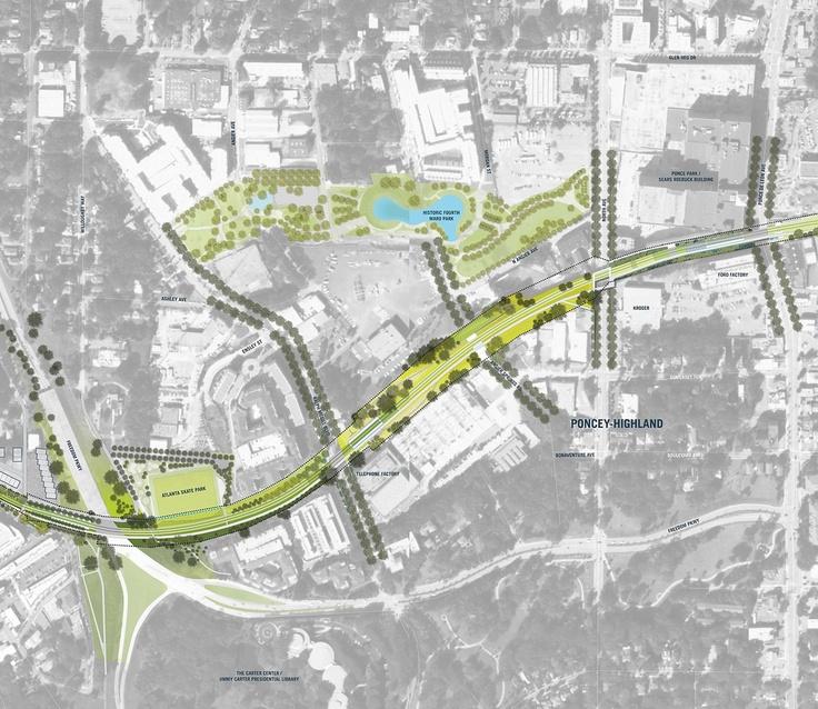 Atlanta S Premiere Landscape Architect: 10 Best Linear Park Images On Pinterest