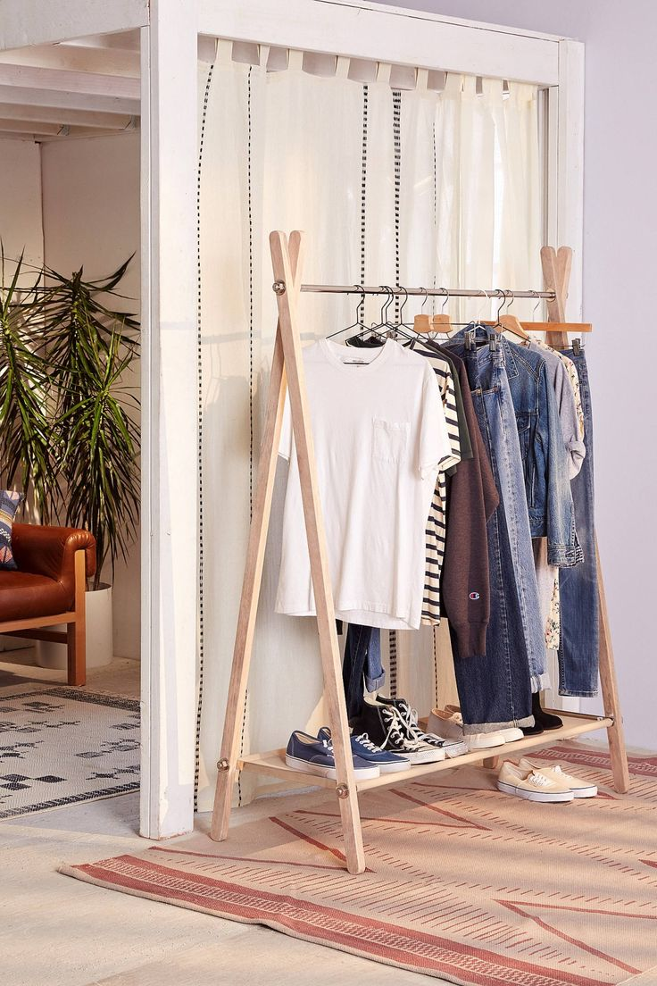 how to make a cloths rack