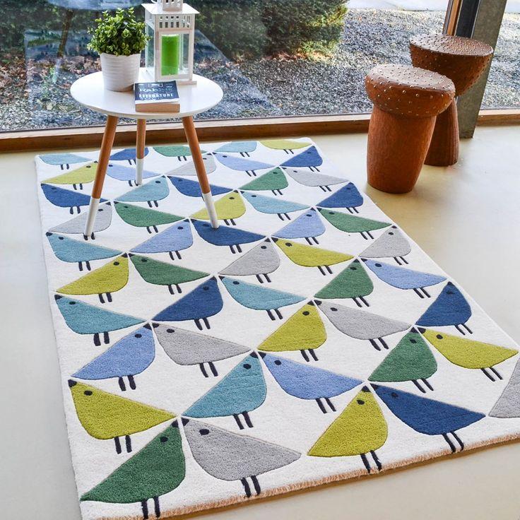 Scion lintu rugs 24408 in pacific buy online from the rug seller uk