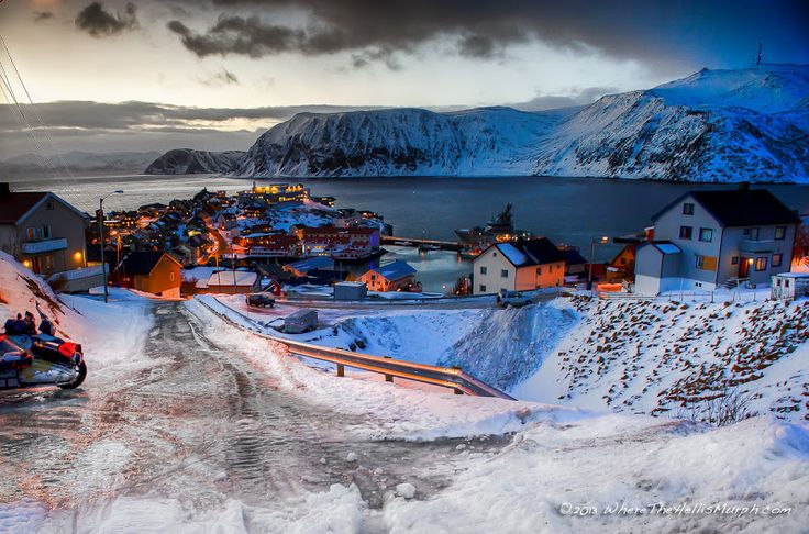 Honningsvåg, Norway,Nordkapp .