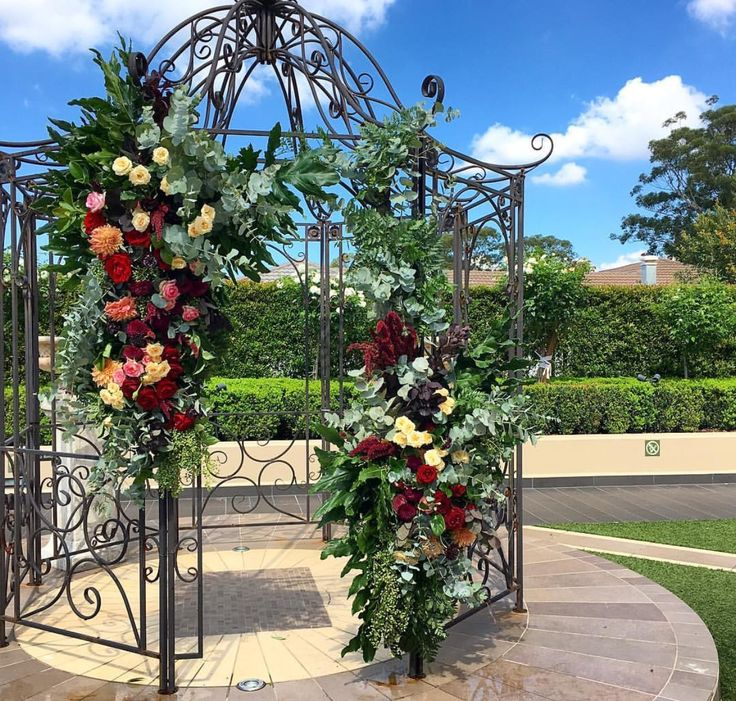 31 best flower arches images on wedding arches