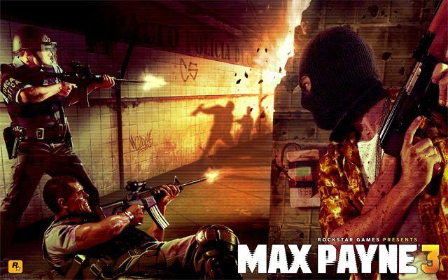Max Payne 3 Original Artwork: Local Justice | Rockstar Games