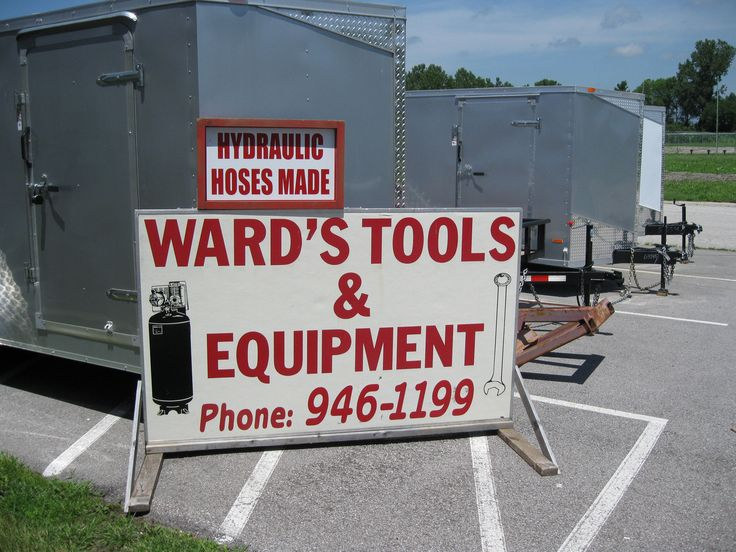 Trailer Sales and service Specialty tools and equipment Compressors Hydraulic…