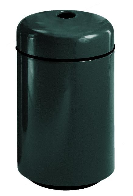 Round Top Fiberglass Recycling Container  (bottles): Cans or bottles Recycling waste Containers