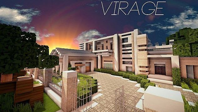Map Minecraft Villa Affordable Trendy Beautiful Emejing Maison. Modern House  Download Minecraft Project