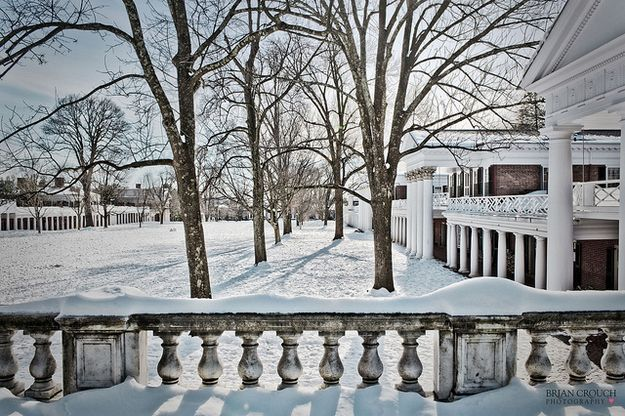University of Virginia | The Most Winter Wonderful CollegeCampuses