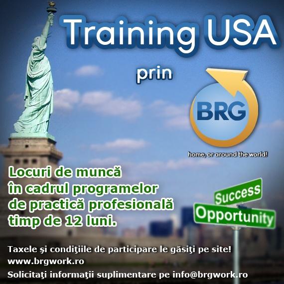 Vrei sa urmezi 12 luni de practica profesionala in turism in SUA? Email info@brgwork.ro
