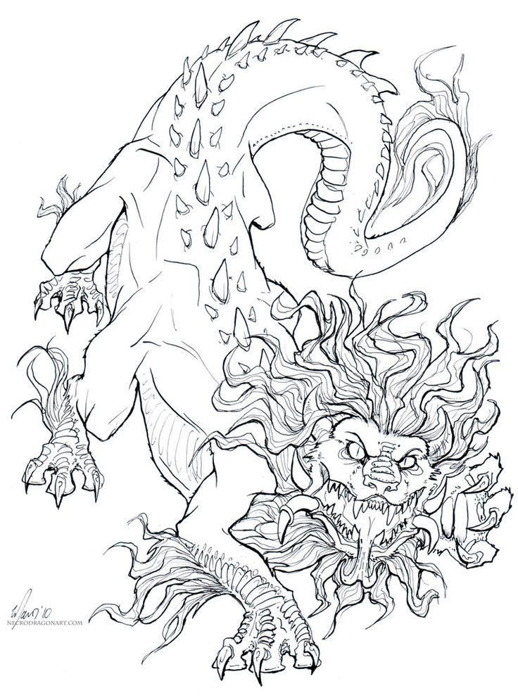 Soul Eater Line Art By Drakhenliche