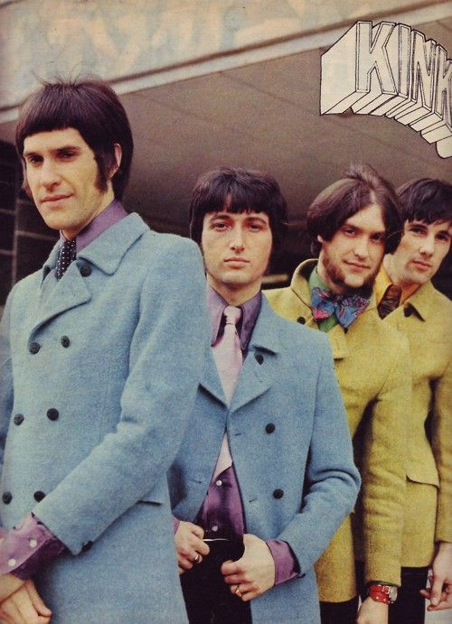 one for the boys... The Kinks in double breasted jackets