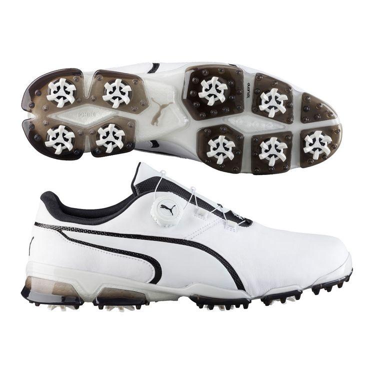 New Puma 2017 Titantour Ignite Disc Golf Shoes 189427  White/Black