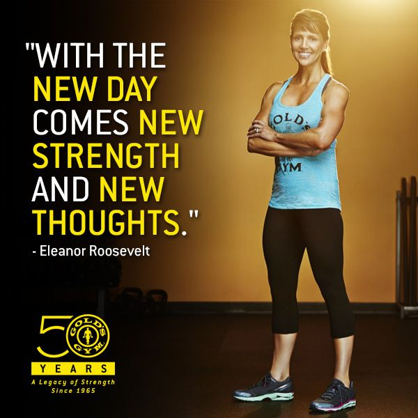Gold S Gym Gym Quote Fitness Motivation Gym Workouts