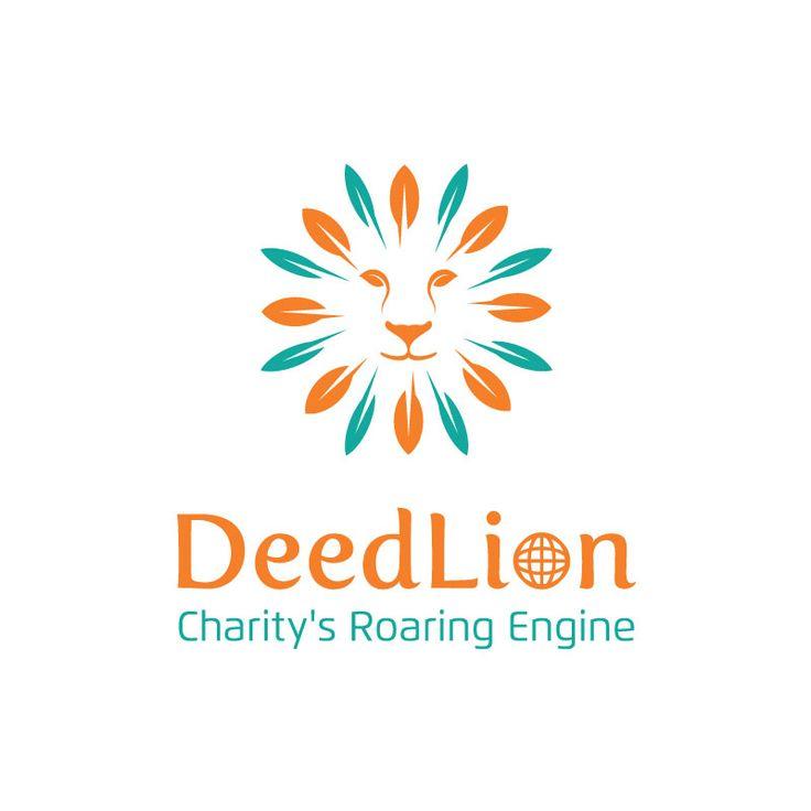 Logo & Branding for Deed Lion. A crowd funding charity program. https://www.noeticbrands.com/project/204622/