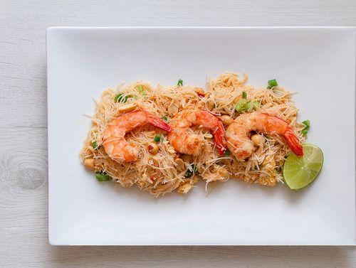 Pad Thai aux crevettes // Pad thai with shrimps