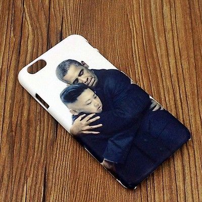 """iPhone Case Cover Skin fits iPhone 6 Funny Pictures of Kim Jong Un 4.7"""" 