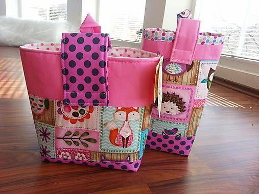HEDERVIGA / Púzdra /tašky na všetko..nie len plienky...super cena za 2ks!