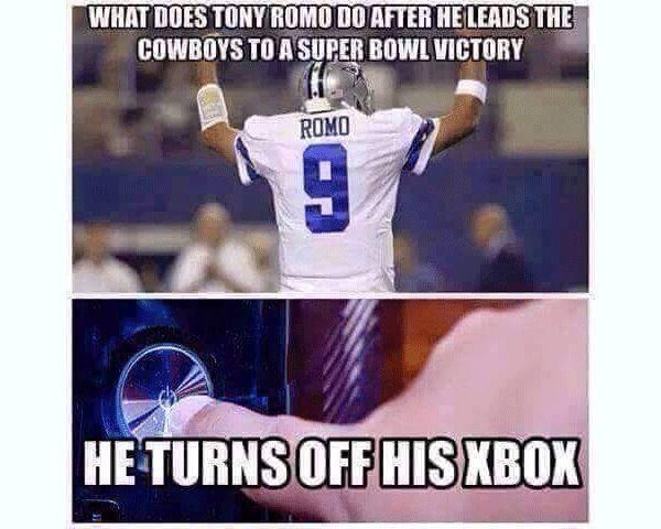 Funny Tony Romo Meme