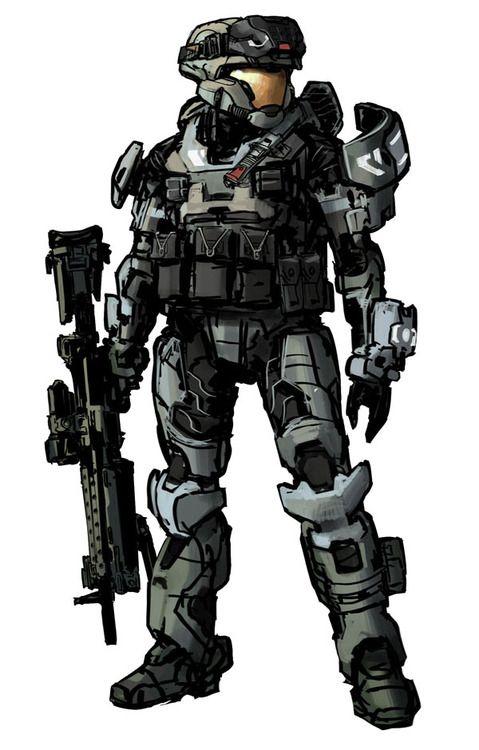 Halo: Reach Concept Art