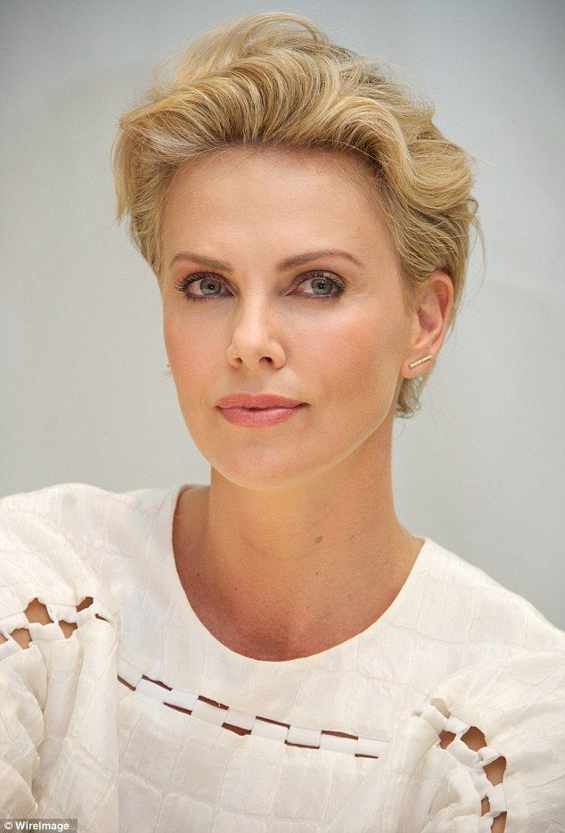Fine 1000 Ideas About Charlize Theron Short Hair On Pinterest Short Hairstyles For Black Women Fulllsitofus
