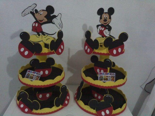 Fazer Baleiro Do Mickey Em Eva E Isopor Decoraciones De Mickey