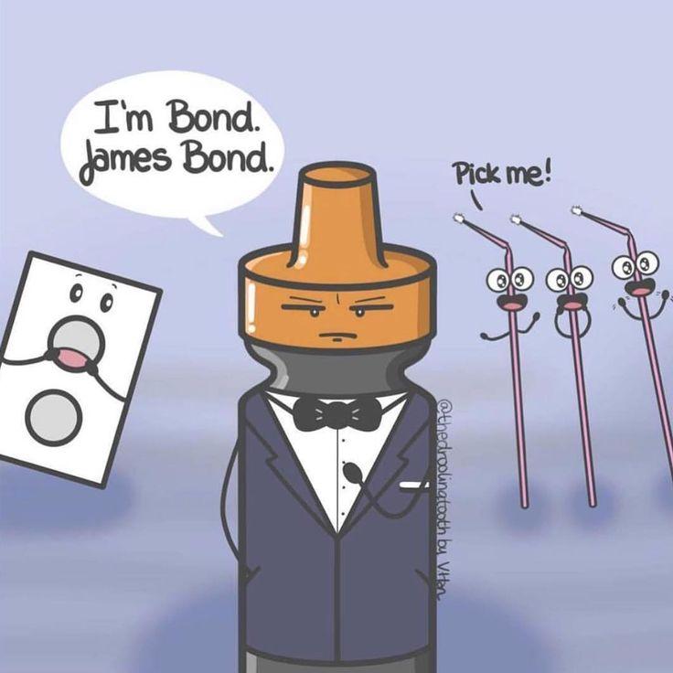 Dental humor of the day  #bond #dentalhumor #bondingagent  #hesbondjamesbond #TatumDentistry #CharlestonSCDentist #DrVickiTatum