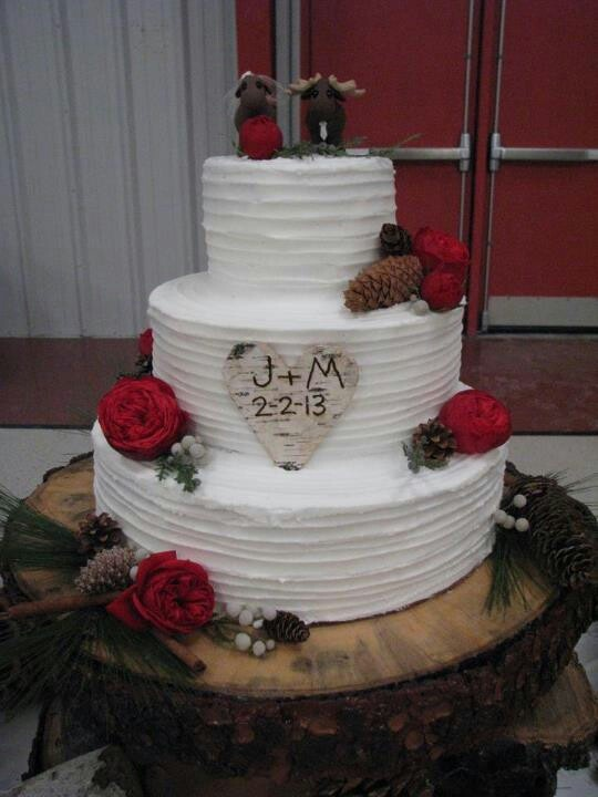3 Tiered Rustic Spatula Textured Buttercream Cake