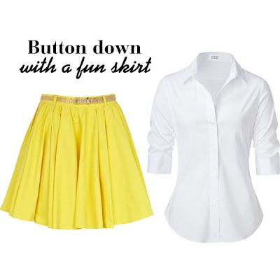 how to wear a button down shirt differently