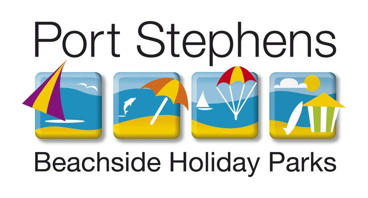 Corporate Logo - Port Stephens Beachside Holiday Parks: Fingal Bay, Shoal Bay, Halifax and Soldiers Point Holiday Parks