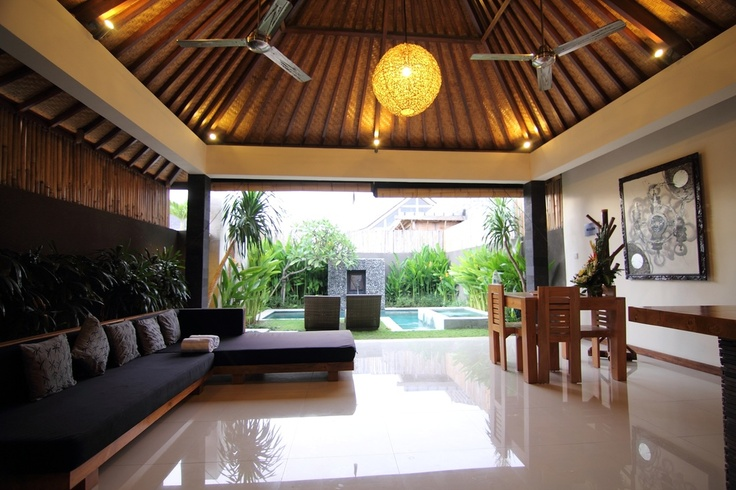 One bed private villa near Seminyak (they have up to 6 bedroom villas as well)