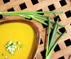 Gulerods-karry suppe opskrift