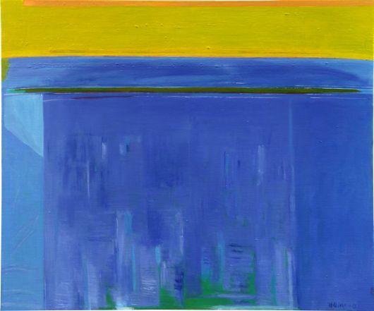 Urpu Ilasmaa, Blue, 2013, Oil, 100x120cm   www.clikdesign.fi/ilasmaa