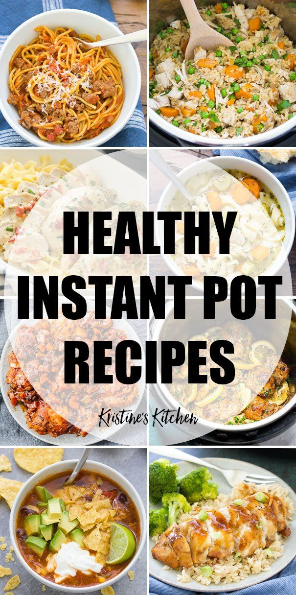 Easy Healthy Instant Pot Recipes. The best clean eating pressure cooker recipes …