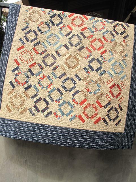 Dutch Treat quilt pattern - Moda Zippity Doo Dah, Sandy Gervais pattern