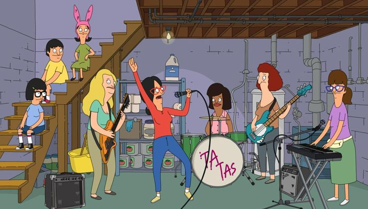 bob's burgers kitchen - Google Search