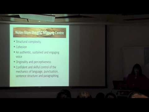 Karen Yager - Creative Writing for HSC Discovery - YouTube