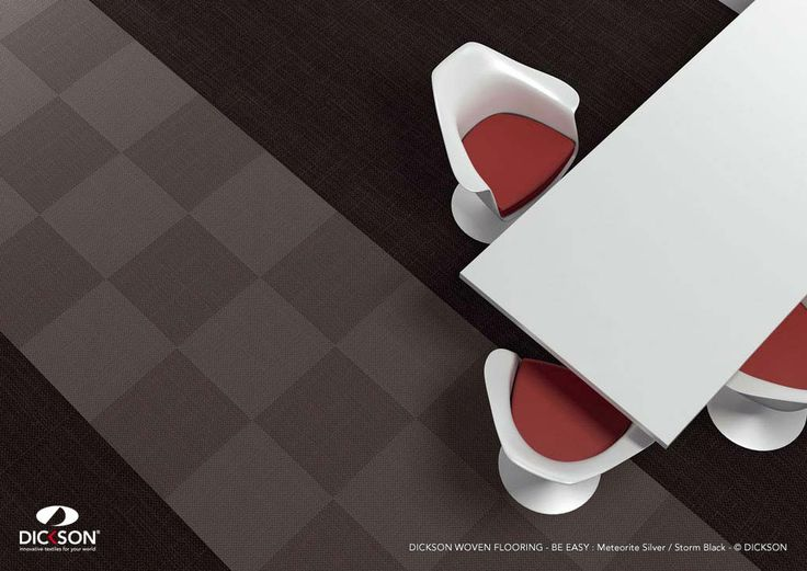The floors of the furture are easy.  Dickson® woven flooring - http://www.dickson-constant.com/
