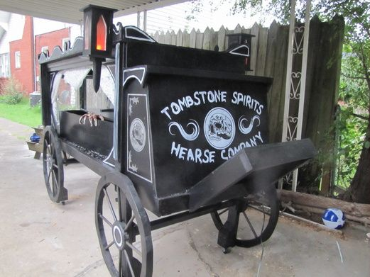 heres my finished hearse project halloween prophalloween - Halloween Prop Ideas