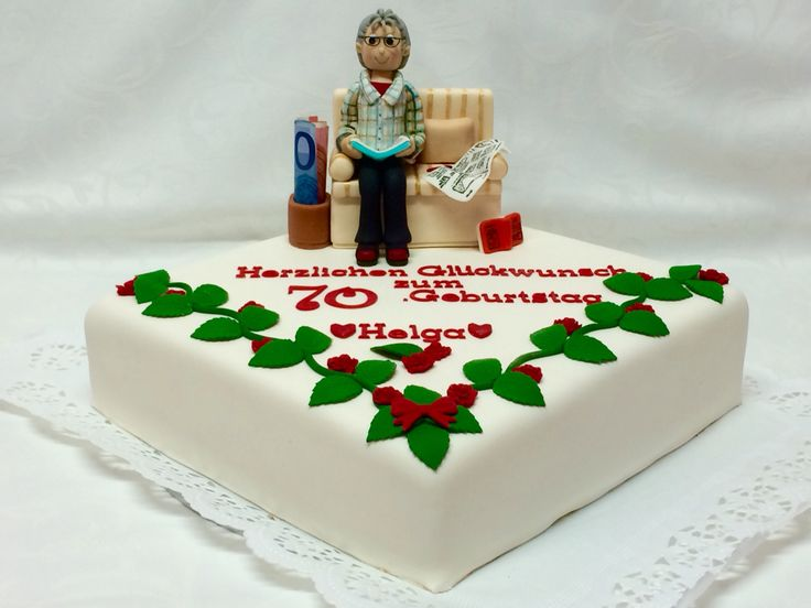 70. Geburtstagstorte