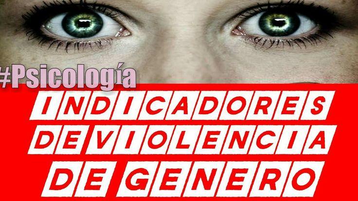 Liked on YouTube: Indicadores de Violencia de Género #Psicologia Ψ INDICADORES DE VIOLENCIA DE GENERO SABÍAS QUÉ la violencia física en la mayoría de veces empieza con un juego y no nos damos cuenta. Sabías qué si te golpean una vez el patrón de que se repetir es elevado. Sabías qué si te acusa injustamente de coquetear con alguien es violencia psicológica Sabías qué si te prohíben vestir como quieres es violencia psicológica o emocional. Sabías qué si te ponen reglas en tu relación…